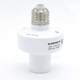 RF-24Ghz-433MHz-Wireless-Control-E27-Universal-Wi-Fi-Light-Lamp-Bulb-Holder-White
