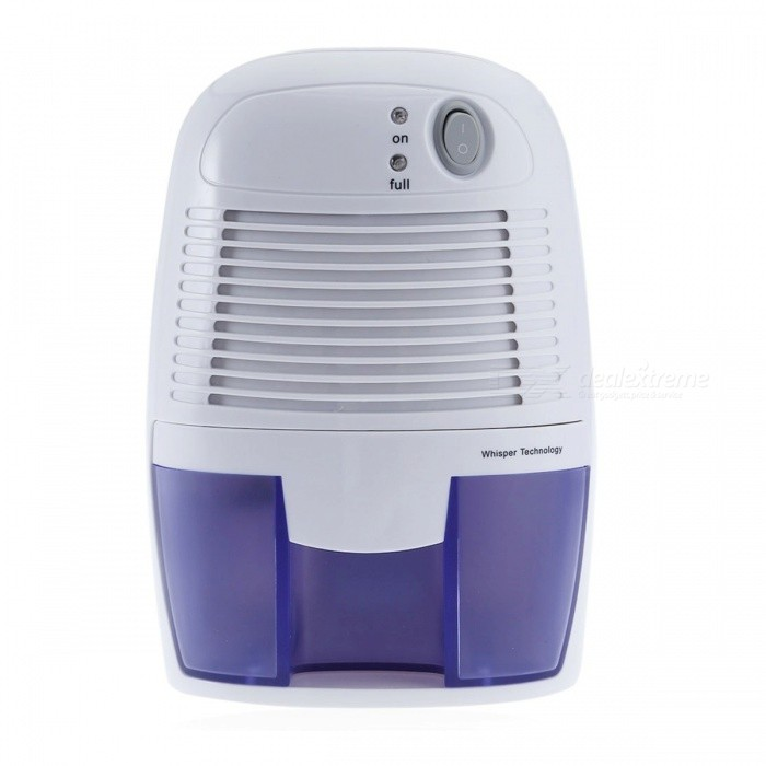 500ML Portable Mini Compact Electric Dehumidifier, Moisture Absorber for Home (UK Plug)Form  ColorWhitePower AdapterUK PlugMaterial/Quantity1 setPower/ WRate Voltage9VPacking List1 x Mini Dehumidifier1 x Power Adapter1 x English User Manual<br>