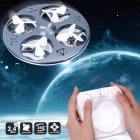 Mini zumbido 777-374 Sky Fantasma UFO RC Quadcopter-Gris