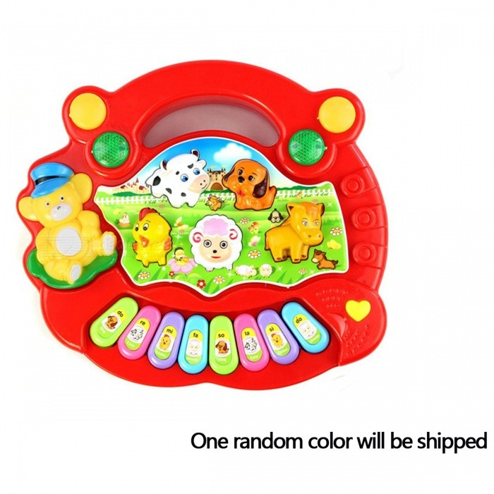 Portable Keyboard Piano Music Toy for Children - Random colorOther Toys<br>Form  Color Random ColorModelN/AMaterialPlasticQuantity1 pieceSuitable Age 3-4 years,5-7 yearsPacking List1 x Keyboard Piano toy (NO Retail Box. Packed Safely in Bubble Bag)<br>