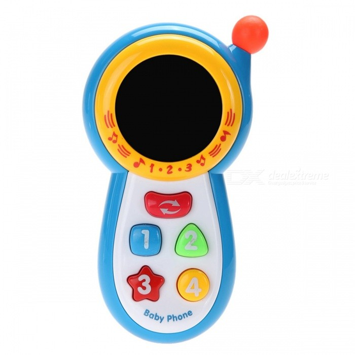 Baby Musical Phone Educational Learning Toy for KidsOther Toys<br>Form  ColorMulticolorModelN/AMaterialPlasticQuantity1 pieceSuitable Age 13-24 months,3-4 yearsPacking List1 x Musical Phone Toy (Battery is Not Included)<br>