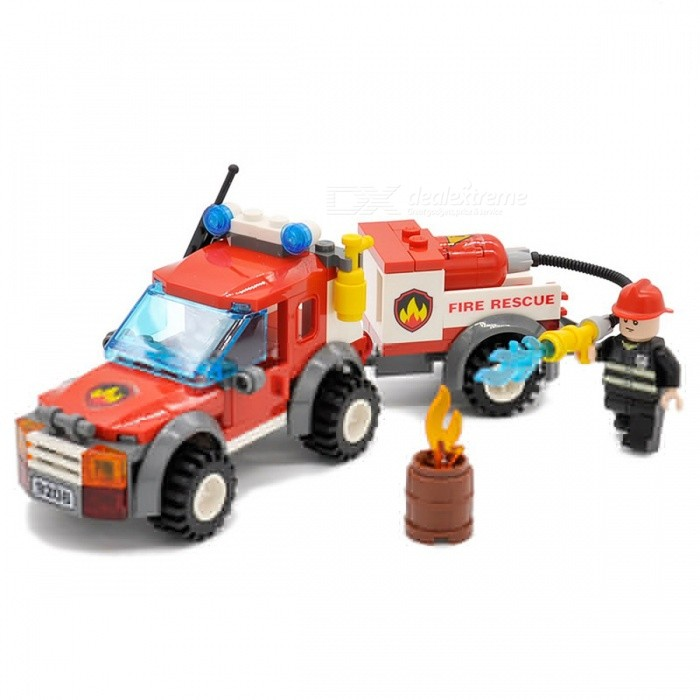 122Pcs City Off Road Fire Rescue Bricks Building Blocks Set Toy for KidsBlocks &amp; Jigsaw Toys<br>Form  ColorColorfulModelN/AMaterialPlasticQuantity1 DX.PCM.Model.AttributeModel.UnitNumber122PcsSuitable Age 5-7 years,8-11 yearsPacking List122 x Building Blocks<br>
