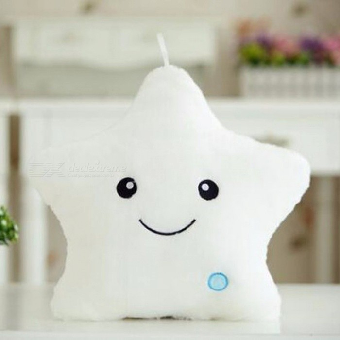 Creative-Cute-Cartoon-Star-Style-Luminous-Plush-Pillow-with-LED-Light-Christmas-Toy-Gift-White