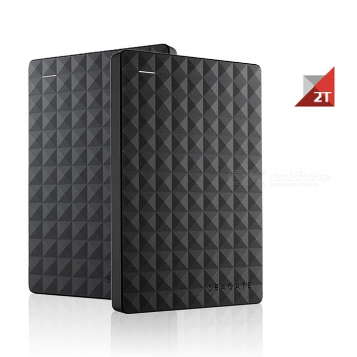 Seagate Portable 2TB USB 3.0 2.5 External Hard Drive Disk HDD for Desktop LaptopHDD &amp; SSD<br>Form  Color2TBModelN/AQuantity1 DX.PCM.Model.AttributeModel.UnitMaterialPlasticInterfaceUSB 3.0Capacity / ROM2TBForm Factor2.5Max Sequential Read/Max Sequential Write/BrandOthers,-TypeHDDApplicationOthers,-Packing List1 x Portable hard drive1 x USB 3.0 cable1 x User manual (22 languages)<br>
