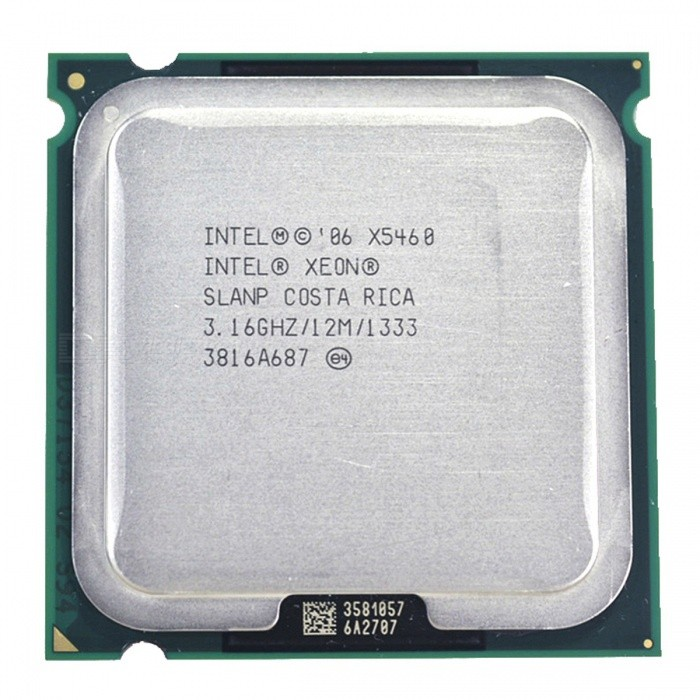 Intel Xeon x5460 3.16GHz 12M 1333Mhz Processor Works on LGA775 Mainboard for sale in Bitcoin, Litecoin, Ethereum, Bitcoin Cash with the best price and Free Shipping on Gipsybee.com