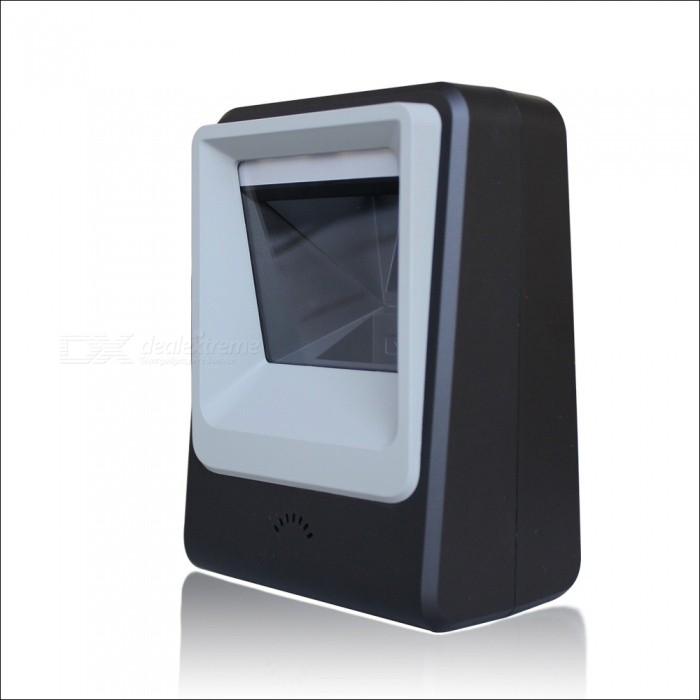 Buy Omni Directional Desktop Ticketing QR Code 2D Scanner, USB Barcode Reader with Litecoins with Free Shipping on Gipsybee.com