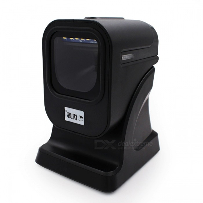 YK&amp;SCAN QR 1D 2D Omnidirectional Barcode Scanner Platform - Black (With USB Cable)Scanners<br>Form  ColorBlack (USB Cable)ModelYK-6200Quantity1 DX.PCM.Model.AttributeModel.UnitMaterialABSInterfaceUSB 2.0Powered ByUSBWireless or WiredWiredTypeBarcode Scanner,QR code ScannerScanning Speed2100 times per secondTrigger ModeAutoSupport Barcode Types1D / 2D / QRSupports SystemOthers,-Packing List1 x Scanner 1 x User Guide 1 x USB Cable<br>