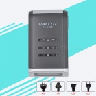 4-Slot Smart Intelligent Battery Charger with LCD Display for AA / AAA NiCd NiMh Rechargeable Battery (AU Plug)
