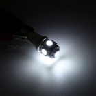 20Pcs T10 W5W 5-LED SMD5050 White Super Bright Car Light, Wedge Lamp Bulbs (DC 12V)