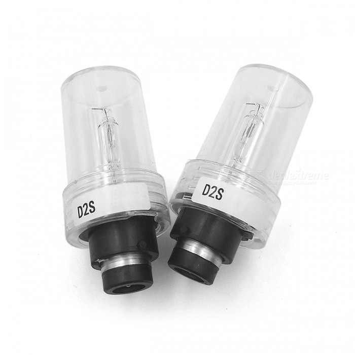 Car Flashing D2S HID Xenon Light Bulb 4300K Warm White Headlight Headlamp