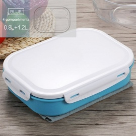 Japanese-Style-304-Stainless-Steel-Lunch-Box-with-Four-Compartments-Bento-Box-Picnic-Food-Container-for-School-Kids-Blue
