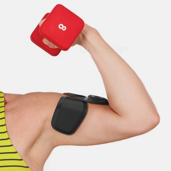 Buy Fitness Gear, EMS Arm Abdominal Muscles Smart Training Tool Massager for Household Use - Black with Litecoins with Free Shipping on Gipsybee.com