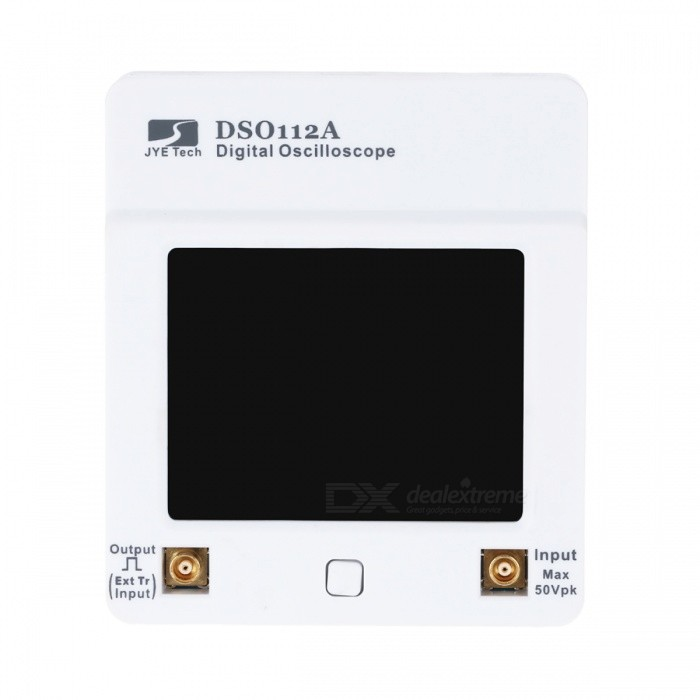 Buy DSO 112A Portable Mini Touch Screen TFT Digital USB Oscilloscope w/ 2MHz 5Msps Speed with Litecoins with Free Shipping on Gipsybee.com