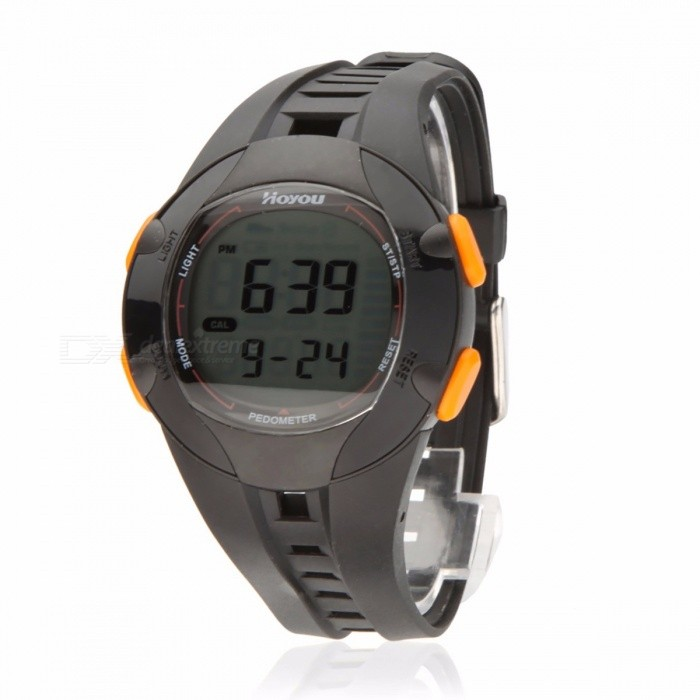 30M Waterproof Multi Function Walking Running Sports Watch Step Calorie Distance Counter Backlight 3D Pedometer Digital Watch Black for sale in Bitcoin, Litecoin, Ethereum, Bitcoin Cash with the best price and Free Shipping on Gipsybee.com