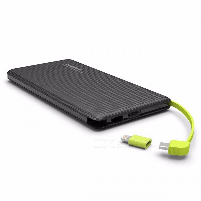 Genuine PINENG PN951 10000mAh Portable Power Bank Mobile External Battery Charger Built-In Charging Cable for IPHONE, Samsung whiteMobile Power<br>DescriptionType: Emergency / PortableOutput Interface: Single USBBattery Capacity(mAh): 9001-10000mAhWeight: 225gQuality Certification: CEBattery Type: Li-polymer BatteryIs LED Lamp Illumination: NoBrand Name: PinengSupports Solar Energy: NoInput Interface: Micro USBSupport Quick Charge Technology: NoOutput: 5V/2.1ASize: Other<br>