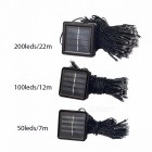 Solar Lamp Fairy String Lights Solar Power Outdoor Lights Waterproof For Garden Light LED Lighting String 7M 50LEDs/Warm White