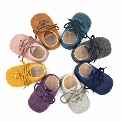 Stylish Baby Shoes Nubuck Leather Moccasins Soft Footwear Shoes for Girls Baby Kids Boys Sneakers Winter Shoes 7-12 Months/Blue