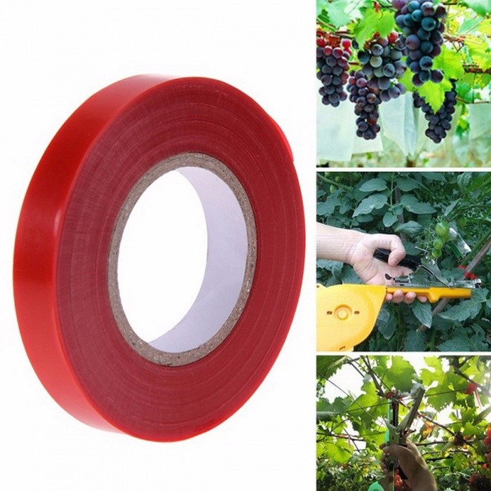 Garden Plant Tying Tapetool Tapener Machine Branch Hand Tying Machine Tool Tapener Vegetable Stem Strapping  Red TapeGardening Tools<br>DescriptionFeature: Anti-Slip GripFinishing: Not CoatedBrand Name: VKTECHMaterial: MetalPruner Type: BypassPruning Tool Type: Other<br>