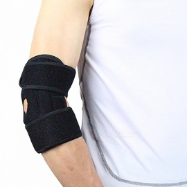 Office & School Supplies Classic Black Sports Long Elastic Elbow Support Pad Braid Arm Protector Outdoor Fitness Sportswear Accessories 1pc