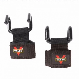 1-Pair-Adjustable-Weight-Lifting-Steel-Hook-Grips-Fitness-Gym-Wrist-Wraps-Strength-Training-Straps-Support-Wristbands-black