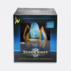Star Craft II Protoss Pylon 2-in-1 USB Charger Desktop Power Station + Cool Light with On Off Control Switch Golden+Blue