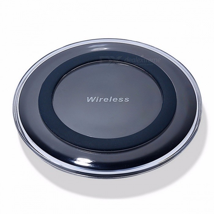 HAISSKY Mini Qi Wireless Charger, USB Charging Pad for IPHONE X 8 Plus Samsung Galaxy S8 Plus S6 S7 Edge Note 5 8 Elephone P9000 Wilress Charger