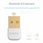 ORICO BTA-403 Mini Portable Small Exquisite Bluetooth V4.0 USB Adapter Connector for Win 7 / 8 / 10 / Vista / XP Blue