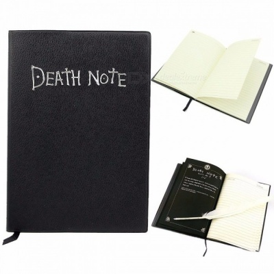 Lovely Fashion Anime Theme Death Note Cosplay Notebook, 20.5cm x 14.5cm New Large Writing Journal for Students 20.5 cm * 14.5 cm