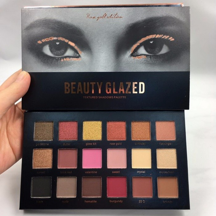 2017 Beauty Glazed Queen Eyeshadow and Cheek Palette Glitter Diamond Pigment Shimmer Eye Shadow Eyeshadow Set GLITTEREyelash or Eyebrow Supplies<br>Description<br><br><br><br><br>Type: Eye Shadow<br><br><br>Finish: Satin,Glitter,Metallic,Luminous,Radiant,Matte,Natural<br><br><br><br><br>Brand Name: beauty glazed<br><br><br>Benefit: Long-lasting,Brighten,Easy to Wear,Waterproof / Water-Resistant,Natural<br><br><br><br><br>Size: Full Size<br><br><br>Waterproof / Water-Resistant: Yes<br><br><br><br><br>Single color/multi-color: Above 18 colors<br><br><br><br><br><br><br><br><br><br>feature: highlighter <br><br><br>feature1: palette maquillage <br><br><br>feature2: pinceaux maquillage <br><br><br>feature3: maquillage palette <br><br><br>feature4: maquiagem <br><br><br>feature5: pincel maquiagem <br><br><br>feature6: eyeshadow pallete <br><br><br>feature7: eyeshadow <br><br><br>feature8: glitter<br>
