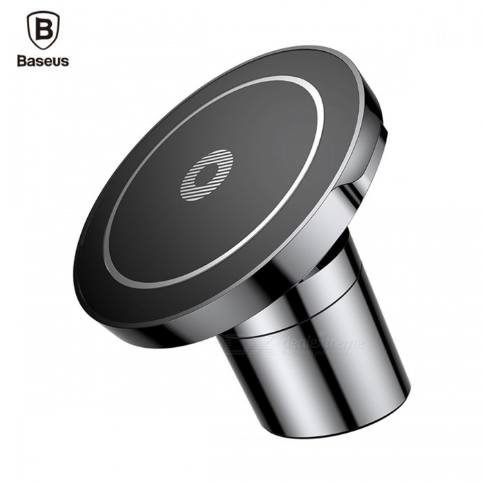 Baseus Car Mount Qi Wireless Charger for IPHONE X 8 Samsung Note 8 S8 S7, Fast Wireless Charging Magnetic Car Phone Holder Stand Black