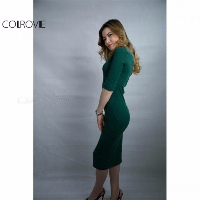 8a4f9305cb1 Casual Dresses - COLROVIE Summer Style Women Bodycon Work Dresses ...