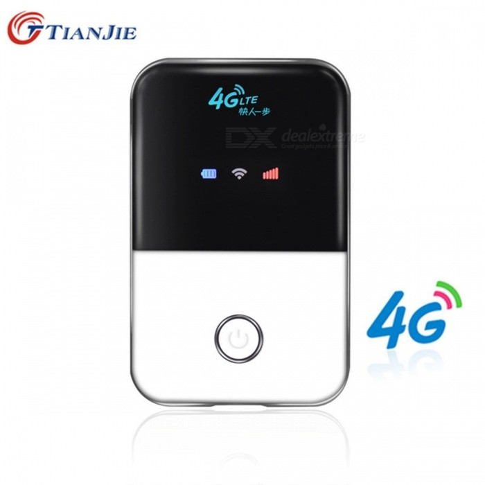 TIANJIE Mini 3G 4G LTE Wireless Wi-Fi Router, Portable Pocket-Size Mobile Hotspot Car Wi-Fi Router with SIM Card Slot   MF903Routers<br>Description<br><br><br><br><br>Number of USB Interfaces: 1 x USB 2.0<br><br><br>Max. LAN Data Rate: 100Mbps<br><br><br><br><br>Brand Name: TIANJIE<br><br><br>Wi-Fi Transmission Standard: 802.11n<br><br><br><br><br>2.4G Wi-Fi Transmission Rate: 150 Mbps<br><br><br>Function: Firewall<br><br><br><br><br>LAN Ports: 1<br><br><br>Supports WDS: No<br><br><br><br><br>Standards And Protocols: Wi-Fi 802.11g<br><br><br>Wi-Fi Supported Frequency: 2.4G<br><br><br><br><br>Package: Yes<br><br><br>With Modem Function: Yes<br><br><br><br><br>WAN Ports: 1 x10/100Mbps<br><br><br>Supports WPS: No<br><br><br><br><br>Application: Home<br><br><br>Wired Transfer Rate: None<br><br><br><br><br>Type: Wireless<br><br><br><br><br><br><br><br><br><br>Function 1: 4g router <br><br><br>Function 2: 4g wifi router <br><br><br>Function 3: 4g router with sim card slot <br><br><br>Usage 1: 4g wifi router portable <br><br><br>Usage 2: 4g wifi router with sim card slot <br><br><br>Usage 3: 4g wifi router in wireless Routers <br><br><br>Description 1: wifi router 4g <br><br><br>Description 2: 4g wifi modem sim <br><br><br>Description 3: wifi router with sim card slot <br><br><br>Description 4: lte router <br><br><br><br>Product introdutions:<br><br><br>This<br> device is designed for WIFI users to get access to internet via <br>UMTS/HSPA/LTE.In order to connect to high speed network easily and <br>fast,it uses the battery powered.<br>