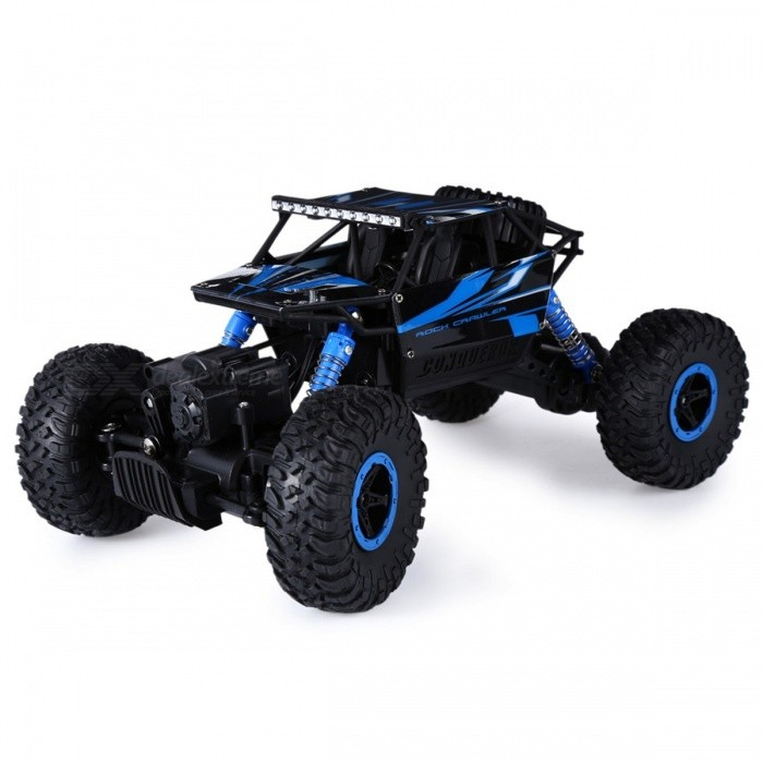 Buy Minii 2.4G 4CH 4WD 4x4 RC Driving Car w/ Double Motors, Remote Control Drive Bigfoot Car Model Off-Road Vehicle Truck Toy EU Plug Red with Litecoins with Free Shipping on Gipsybee.com