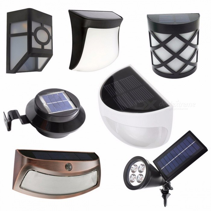Solar Powered LED Garden Light Lamp Sensor Waterproof Outdoor Fence Wall Lamp Lighting Warm White Cold White Light Cold White/BlackWall Lights<br>Description<br><br><br><br><br>Power Source: Solar<br><br><br>Style: Contemporary<br><br><br><br><br>Base Type: None<br><br><br>Brand Name: MengJay<br><br><br><br><br>Solar Cell Type: Ni-MH<br><br><br>Certification: CE,RoHS,CCC<br><br><br><br><br>Voltage: 6V<br><br><br>Usage: Emergency<br><br><br><br><br>Is Dimmable: Yes<br><br><br>Body Material: ABS<br><br><br><br><br>Protection Level: IP55<br><br><br>Light Source: LED Bulbs<br><br><br><br><br>Is Bulbs Included: Yes<br><br><br><br><br><br><br><br><br><br><br><br>Product Name: Solar intelligent wall lamp<br>Solar panels: 2V 160mA crystalline silicon solar panels<br>Battery: 1.2V 1300mAh AA Ni-MH<br>Light source: 3pcs bright 10mm LED<br>Lumens: 60LM<br>Color temperature: warm white (3000-3500K); white light (6500-7000K)<br>Duration: 8-10H<br>Charging time: 6-8H<br>Function: light control, daytime solar panels on the battery charge, automatically light at night<br>Waterproof rating: IP44<br>Material: ABS + PC<br>Colour: Black<br>Size: 10.5 * 4 * 10CM<br>Switch: light control, pull-type switch<br>