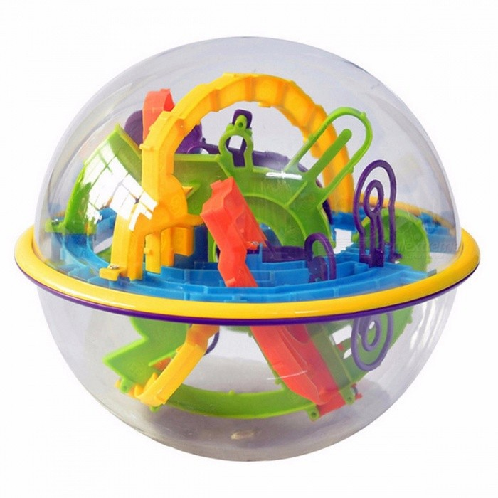 GLOBAL DRONE 3D Magic Maze Ball, Plastic Perplexus Magical Intellect Ball, IQ Educational Classic Toy for Kids Children Colorful (299 levels)Blocks &amp; Jigsaw Toys<br>Description<br><br><br><br><br>Gender: Unisex<br><br><br>Age Range: & 3 years old<br><br><br><br><br>Style: Geometric Shape<br><br><br>Brand Name: Global Drone<br><br><br><br><br>Puzzle Style: 3D Puzzle<br><br><br>Material: Plastic<br><br><br><br><br>Plastic Type: ABS<br><br><br><br><br><br><br><br><br><br><br><br><br>It may look like a transparent sphere <br>amusement park for marbles, but this self-contained puzzle ball is a <br>challenging maze for all ages. <br><br><br>Flip, twist, and spin the Perplexus, <br>attempting to move a ball along the numbered paths, while you work with <br>and against the forces of gravity. <br><br><br>Theres 100 barriers for you to <br>conquer with this game thats easy to play, but hard to master! If your <br>ball falls off the track, just try again. <br><br><br>Combined counterweight, mental, logical thinking ability, hand dexterity game. <br><br><br>Exercise practical ability, improve balance, enhance understanding of space. <br><br><br>&amp;nbsp;<br><br><br>Notice: <br><br><br>1.Please allow 1-3error due to manual measurement. <br><br><br>Pls make sure you do not mind before you bid. <br><br><br>2.The colors may have different as the difference display, pls understand.&amp;nbsp;<br>