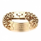 Mens-Greece-Key-ID-Tag-Bracelet-Stainless-Steel-Male-Double-Cuba-Chain-Bangles-Bileklik-Hiphop-Jewelry-Bold-and-Chunky-Gold