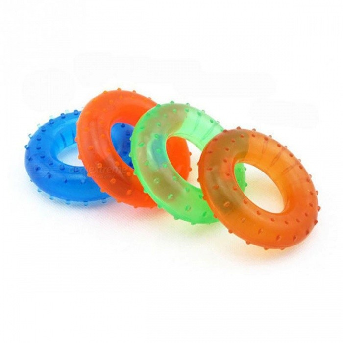 35KG Strength Hand Grip, Muscle Power Training Rubber Easy Carrier, Hand Fitness Ring Exerciser Expander Gripper GreenDescription<br><br><br><br><br>Brand Name: TONQUU<br><br><br>Type: Gripping Ring<br><br><br><br><br>Function: Arms<br><br><br><br><br><br><br><br><br><br><br><br><br><br><br>Features:<br><br><br>1. It is lightweight, easy to carry<br><br><br>2. It is made of high quality and durable material<br><br><br>3. It is used to build hand and forearm strength for added performance in any sport anytime, anywhere<br><br><br>4. The miracle of progressive resistance comes to hand grippers; its a effective way to build your hand strength<br><br><br>&amp;nbsp;<br><br><br>Specifications:<br><br><br>Material: Rubber+ PVC<br><br><br>Grip strength: 35Kg<br><br><br>Color: green, blue, orange, red<br><br><br>External diameter: 8cm<br><br><br>Inner diameter: 4cm<br><br><br>&amp;nbsp;<br><br><br>Package Includes:<br><br><br>1 x 35Kg Rubber Hand Grip Ring<br>