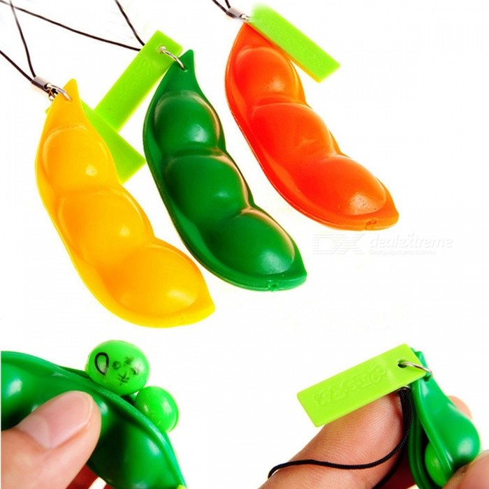 New Creative Extrusion Pea Bean Soybean Edamame Stress Relieve Toy Keychain, Muscle Strength Training Hand Grip Random ColorDescription<br><br><br><br><br>Brand Name: YOUSHITOP<br><br><br>Function: Muscle Relex Apparatus<br><br><br><br><br>Type: Other<br><br><br><br><br><br><br><br><br><br><br><br><br>Description: <br><br><br>&amp;nbsp;<br><br><br><br>Features: <br><br><br>Very simple to play <br><br><br>The bean pop up when squeezed <br><br><br>Fun soya bean keyring or mobile phone accessory <br><br><br>Good for keeping your hands busy or relieving stress <br><br><br>Liven up your mood and bring some humor to your friends and family <br><br><br>A good toys when you feel blue, angry or upset....... <br><br><br>Suitable for people over 15 years old,Not suitable for children under 3 years old <br><br><br>Specifications: <br><br><br>Material: BS / PVC /synthetic rubber <br><br><br>&amp;nbsp;<br><br><br>Color: Random colors <br><br><br>Size : 6.7 x 2.1 x 1.5cm (2.64 x 0.83 x 0.6in) (approx.) (L x W x H) <br><br><br>&amp;nbsp;<br><br><br>Package Include: <br><br><br>1 x extrusion bean toy <br><br><br>NO Retail Box. Packed Safely in Bubble Bag<br>