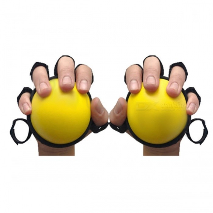 ENNJOI 8cm Diameter Circular Hand Grip Expander, Muscle Power Training Hand Gripper, Gym Power Fitness Gripping Ball YellowDescription<br><br><br><br><br>Brand Name: ENNJOI<br><br><br>Function: Muscle Relex Apparatus<br><br><br><br><br>Type: High Elastic Gripping Ball<br><br><br><br><br><br><br><br><br>Type:High Elastic Gripping Ball<br><br><br>Material:Elastic Sponge,Nylon Tape<br><br><br>Color:Yellow<br><br><br>Weight:80g<br><br><br>Diameter:8cm<br><br><br>Shape:Circular<br><br><br>Function:Muscle Relax<br><br><br>Package:one&amp;nbsp;Gripping Ball<br>