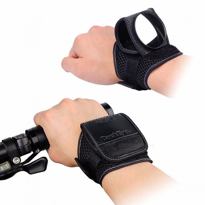 GOOD HAND Bicycle Bike Back Mirror Wrist Band Strap Reflex Rearview Cycling Portable Adjustable Arm Wear Bike Handle Back Mirror blackBike Accessories<br>Description<br><br><br><br><br>Use: Road Bicycles,Kids Bikes,Mountain Bikes<br><br><br>Material: Aluminum Alloy<br><br><br><br><br>Clamp Diameter: 20 - 22.5mm<br><br><br>Brand Name: West Biking<br><br><br><br><br>is_customized: Yes<br><br><br>Width: 300 - 400mm<br><br><br><br><br>Type: Other<br><br><br>Components: Other<br>