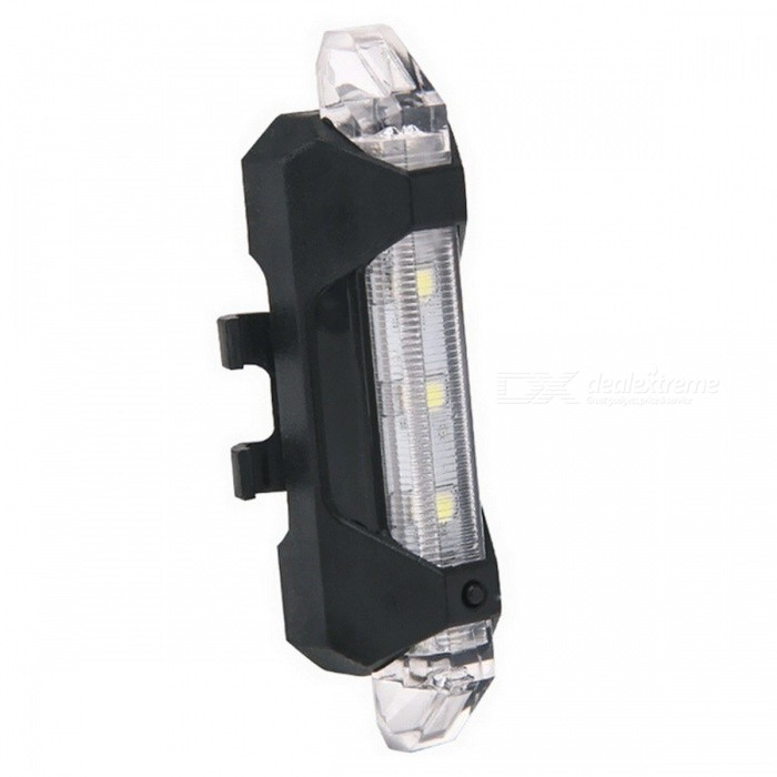 Portable USB Rechargeable Bike Bicycle Tail Light Rear Safety Warning Light Taillight Lamp Super Bright ALS88 WhiteBike Lights<br>Description<br><br><br><br><br>Mounting Placement: Frame<br><br><br>Power Supply: Battery<br><br><br><br><br>Brand Name: CAR-partment<br><br><br><br><br><br><br><br><br><br><br><br>Specifications: <br>Mode: 3 modes <br>Brightness:15 lumens <br>Size:Approx 7.5x3x2cm(L*W*H) <br>Waterproof:Yes <br>Running time <br>Always light: 4 Hours <br>Strobe: 8 Hours <br>Slow: 10 Hours <br>Fast: 12 Hours <br>Charging time:Approx2 hours<br><br><br><br><br><br>Packing List:<br><br><br>1 x Light&amp;nbsp; <br>1 x USB Charging Cable&amp;nbsp; <br>1 x Rubber Straps<br>