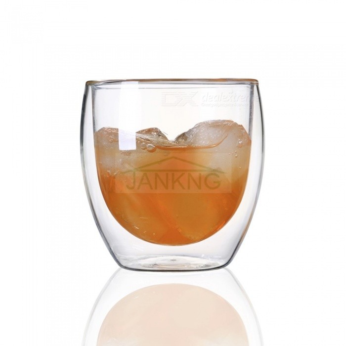 JANKNG Transparent Heat-resistant Double Wall Glass Cup, Handmade Creative Beer Tea Coffee Mug Drinkware 350 mLCups &amp; Bottles<br>Description<br><br><br><br><br>Drinkware Type: Mugs<br><br><br>Certification: CIQ,EEC,CE / EU,FDA,LFGB,SGS<br><br><br><br><br>Style: Europe<br><br><br>Accessories: With None<br><br><br><br><br>Specification: 1<br><br><br>Feature: Eco-Friendly,Stocked,Not Inverted<br><br><br><br><br>Material: Glass<br><br><br>Brand Name: JANKNG<br><br><br><br><br>Type: Coffee Mugs<br><br><br>Shape: Other<br><br><br><br><br><br><br><br><br><br><br><br>1.100% brand new and high quality with competitive price.<br><br><br>2.Purely manual blow-molded heat resistant cup and there may be some difference between the cups.<br><br><br>3.&amp;nbsp;The instant bearing of temperature range: -20-150 centigrade.<br><br><br>4.Suggest to clean the cup with neutrality detergent when used before the first time.<br><br><br>5.There is a hole in the bottom of cup so the cup dont broken easily.<br>
