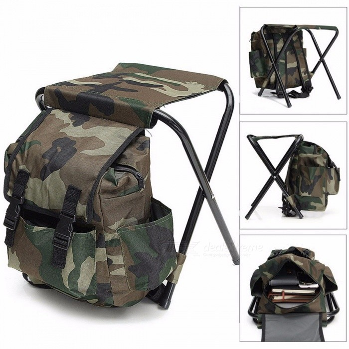 Foldable-Fishing-Chair-Backpack-Fishing-Equipment-Camouflage-Oxford-Cloth-Metal-Tube-Portable-Bifunctional-Fishing-Bag-And-Chair-Camouflage