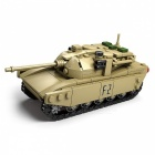 DIY Eductional Toy Tank Building Blocks Sets Christmas Gifts Military Army Cool Blocks Toys for Kids Children  T90