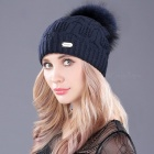 boapt-Double-deck-Knitted-Wool-Real-Natural-Raccoon-Fur-Pompon-Hat-Female-Winter-Braid-Cap-Headgear-Skullies-Beanie-for-Women-2F611-Red-Wine-B