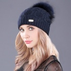boapt-Double-deck-Knitted-Wool-Real-Natural-Raccoon-Fur-Pompon-Hat-Female-Winter-Braid-Cap-Headgear-Skullies-Beanie-for-Women-2F609-Navy-B
