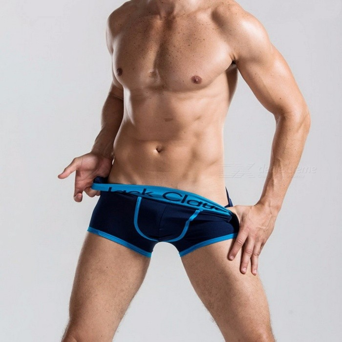 Casual Plus Size Mens Solid Boxers, Sexy Popular Underwear Panties Underpants Shorts for Man                    XL/BlueUnderwear<br>Description<br><br><br><br><br>Brand Name: jack Claude<br><br><br>Material: Spandex,Modal<br><br><br><br><br>Pattern Type: Solid<br><br><br>Gender: Men<br><br><br><br><br>Briefs &amp;amp; Boxers: Boxer Shorts<br><br><br><br><br><br><br><br><br><br><br><br><br><br>size notice:  <br><br><br>there are 95/100/105/110 on the labels, not M.L.XL.XXL,&amp;nbsp;  <br><br><br>but there are M=95, L=100,XL=105,XXL=110. <br><br><br>please understand.<br>