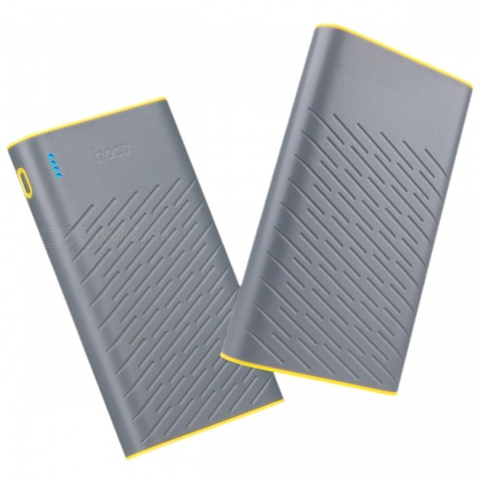 HOCO B31 Portable 20000mAh 18650 Power Bank, Dual USB 5V/2.1A Mobile Phone Charger External Battery Powerbank for IPHONE Xiaomi  GrayMobile Power<br>Description<br><br><br><br><br>Type: Emergency / Portable<br><br><br>Quality Certification: FCC,CE,RoHS<br><br><br><br><br>Weight: 320g<br><br><br>Output: 5V/2.1A<br><br><br><br><br>Battery Capacity(mAh): 15001-20000mAh<br><br><br>Brand Name: HOCO<br><br><br><br><br>Is LED Lamp Illumination: No<br><br><br>Supports Solar Energy: No<br><br><br><br><br>Battery Type: 18650 Lithium Battery<br><br><br>Input Interface: Micro USB<br><br><br><br><br>Support Quick Charge Technology: No<br><br><br>Output Interface: Double USB<br><br><br><br><br><br><br><br><br>Type: Emergency / Portable <br><br><br>Phone Model1: For Xiaomi mi5 pro redmi 3 mi4 mi4c Note3 pro <br><br><br>Phone Model2: For iPhone7 6 6s plus 5s 5 se ipod touch nano7 6 <br><br><br>Phone Model3: For Samsung Galaxy s7 s6 Edge s5 s4 a3 a5 a7 j3 j5 j7 note3 4 5 6 <br><br><br>Input: 5V/2A <br><br><br>Color: White / Gray <br><br><br>External Battery Pack: Portable Charger Power bank <br><br><br>Item: HOCO B31 20000mAh Power bank <br><br><br>Model: Mobile Phone Accessories &amp;amp; Parts&&Power Bank <br><br><br>Package : no retail box <br><br><br><br>1. Capacity: 20000mAh. <br><br><br>2. Input: DC5V 2.0A max, output: USB1: DC5V&amp;nbsp; 2.1A USB2: DC5V 2.1A. <br><br><br>3. ABS+PC fire-resistant material, LED power indicator allows to view charge level and remaining power level <br><br><br>4. Compatibility: smart phones and 99% tablets. <br><br><br>5. 14.5cm*8.2cm*2.3cm (L?W?H) weight: 330g. <br><br><br>6. Product Name:HOCO B18 20000mAh 18650 Power Bank <br><br><br>7.Package : no retail box<br>