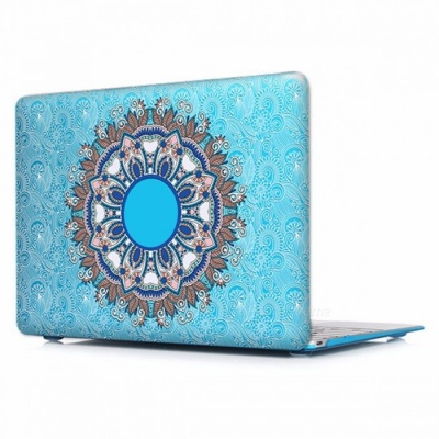 Unique Chic Printed Floral Paisley Pattern Laptop Case Cover with Touch Bar for Apple Mac Macbook Air Pro 15 Retina A1398/P003