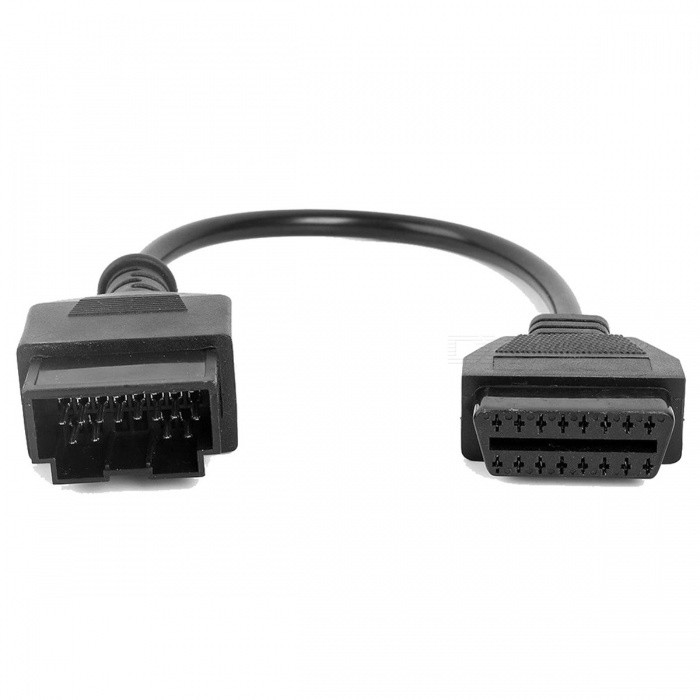 KWOKKER OBD II Adapter Cable for KIA 20 Pin To 16 Pin OBD2 OBD Scanner Code Reader Adapter Car Connector Cable KIA 20-Pin 20 Pin To 16 PinDiagnostic Cables and Connectors<br>Description<br><br><br><br><br>Electronic: No<br><br><br>External Testing Certification: CE<br><br><br><br><br>Item Type: Car Diagnostic Cables and Connectors<br><br><br>Brand Name: K KWOKKER<br><br><br><br><br>Special Features: Other<br><br><br><br><br><br><br><br><br><br><br><br><br>Total length: 205mm. <br><br><br>Please note that it is just an adapter cable, not a diagnostic tool. <br><br><br><br>Package Content:<br>1 x OBD2 16 pin for KIA 20 pin male to female adapter cable.<br>